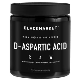 Black Market Labs D-Aspartic Acid 180g (4383807012924)