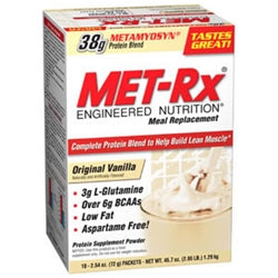 MET-Rx Original Meal Replacement, 18 Packets (1494125936705)
