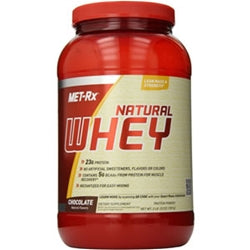 Met-Rx 100% Natural Whey, 2lb (1494125543489)