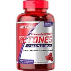 MET-Rx CLA with Raspberry Ketones, 90 Rapid Release Softgels (BEST BY 9/16) (1494070034497)
