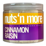 Nuts 'N More High Protein Cinnamon Raisin Almond Butter, 16oz (1494103457857)