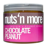 Nuts 'N More High Protein Chocolate Peanut Butter, 16oz (1494103326785)