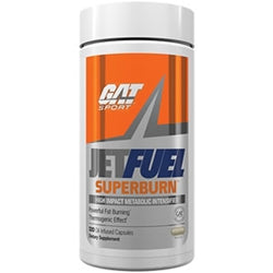 GAT Sport JetFuel Superburn, 120 Oil-Infused Capsules (1494179676225)