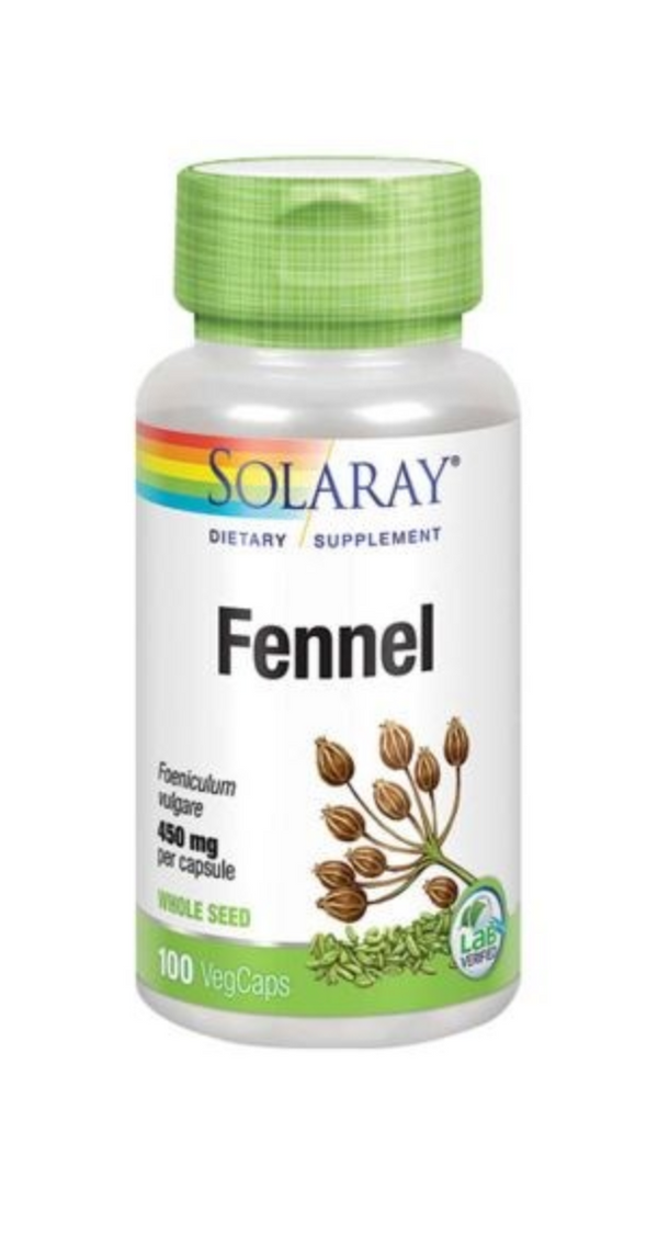 SOL FENNEL SEEDS 450mg 100C (4548916674620)
