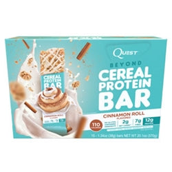 Quest Nutrition Beyond Protein Cereal Bars, Box of 15 (BEST BY 10/17) (1494161522753)
