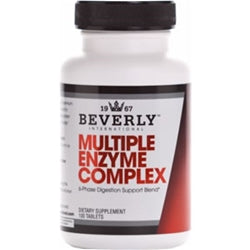 Beverly International Multiple Enzyme Complex, 100 Tablets (1494059515969)