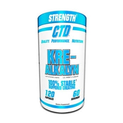 CTD Sports Kre-Alkalyn, 120 capsules