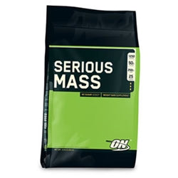 Optimum Nutrition Serious Mass, 12lb (5,455g) (1494158803009)