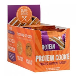 Buff Bake Frosted Oatmeal Raisin Protein Cookie (Box of 12) (1494052503617)
