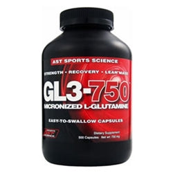 AST Sports Science GL3-750, 500 capsules