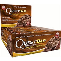 Quest Nutrition Quest Bar Protein Bars, Box of 12