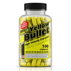 Hard Rock Supplements Yellow Bullet, 100 capsules (1494046703681)