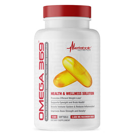 Metabolic Nutrition Omega 369 180 Softgels (3926851518529)