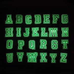 Glow In The Dark Letter & Number Charms