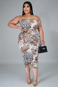 Amigas Cheetah Dress