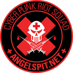 Angelspit Cyberpunk Riot Squad Patch