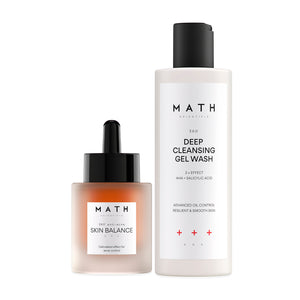 Mattifying set for problematic skin + free gift moisturizing cream