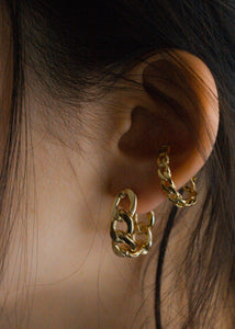Chain earrings set (Silver/Gold)