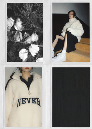 """NEVER"" Furry Sweatshirt"