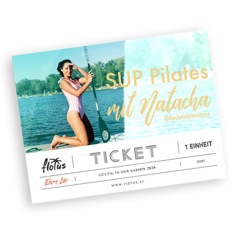 SUP PILATES oder SUP YOGA-PILATES mit Natacha - Ticket