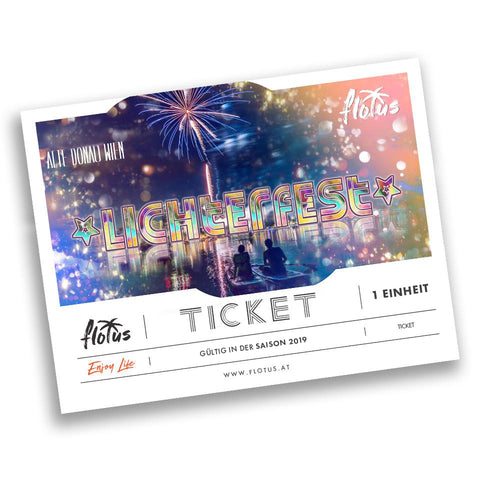 Lichterfest Ticket