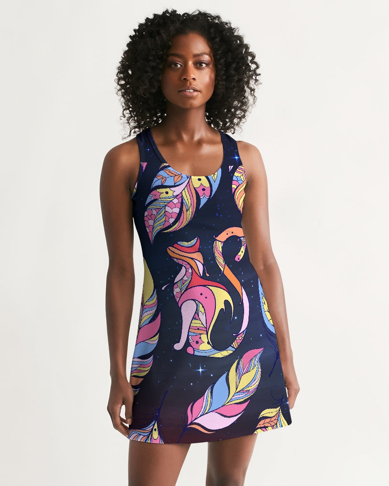 Flower Friends Women's Racerback Dress