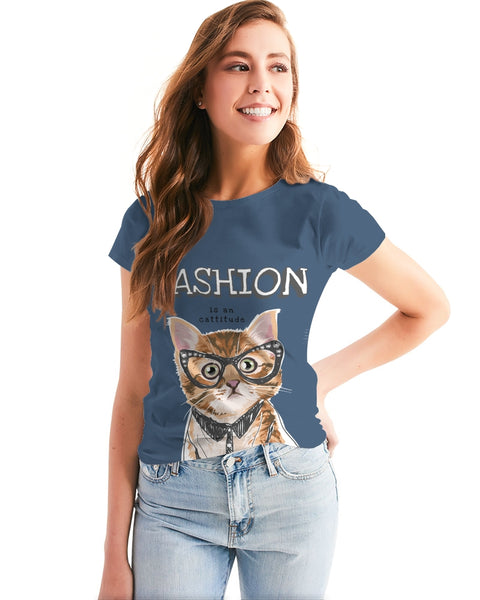 Fashion is a Cattitude Women's Tee