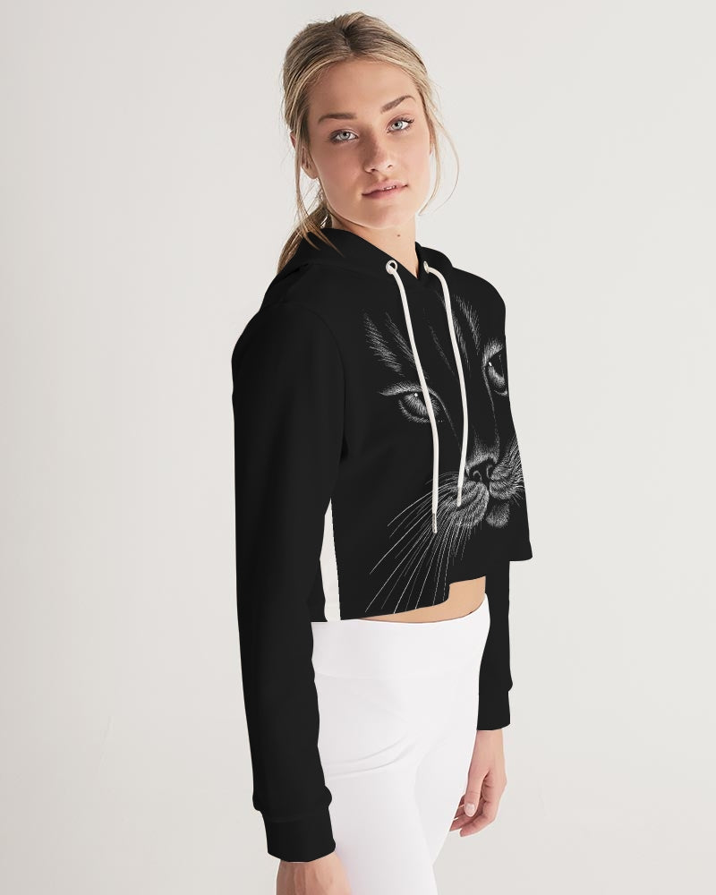 The Boss Women's Cropped Hoodie