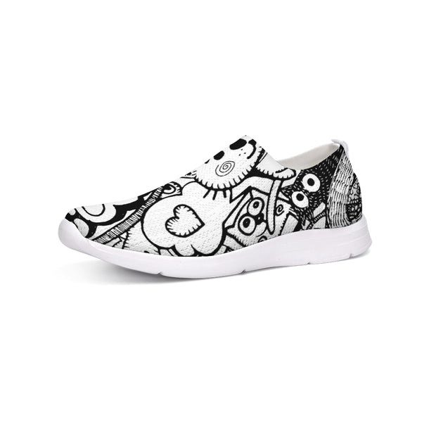 Cat Gang Slip-On Flyknit Shoe