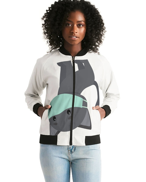 Cat ina Mask Women's Bomber Jacket