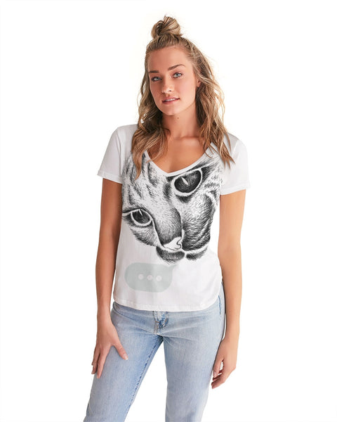 WiFi Women's V-Neck Tee