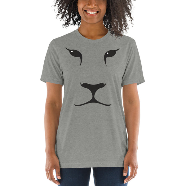 Lion Face Short sleeve t-shirt