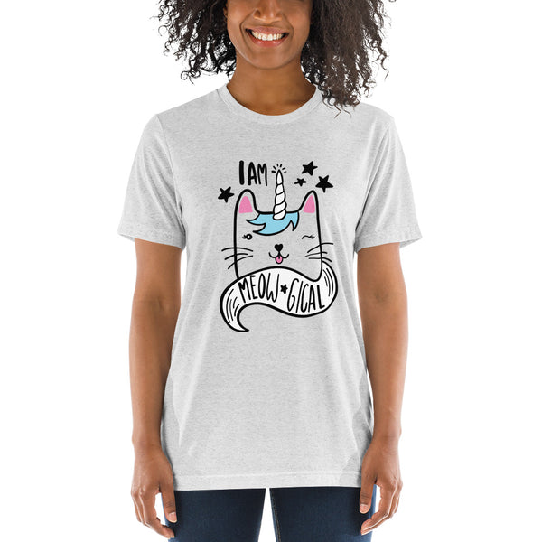 Meowgical Short sleeve t-shirt