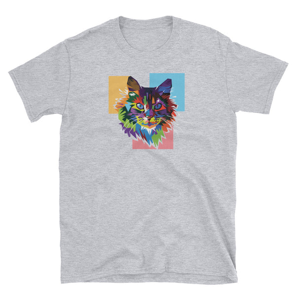 Kolor Kat Short-Sleeve Unisex T-Shirt