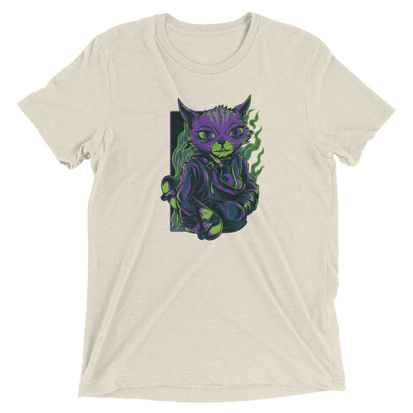 Skate Cat Short sleeve t-shirt
