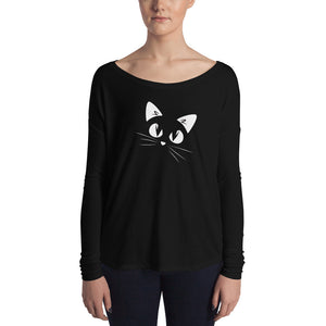 Whiskers Ladies' Long Sleeve Tee
