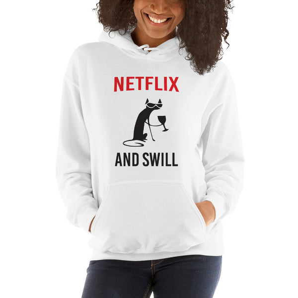 Netflix and Swill Hooded Sweatshirt