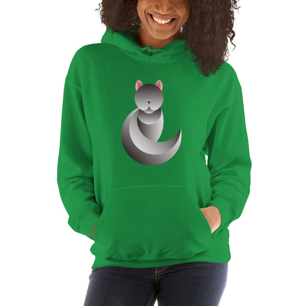 Silvercat Hooded Sweatshirt