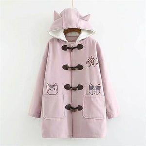 Girls Japanese Kawaii Spring Warm