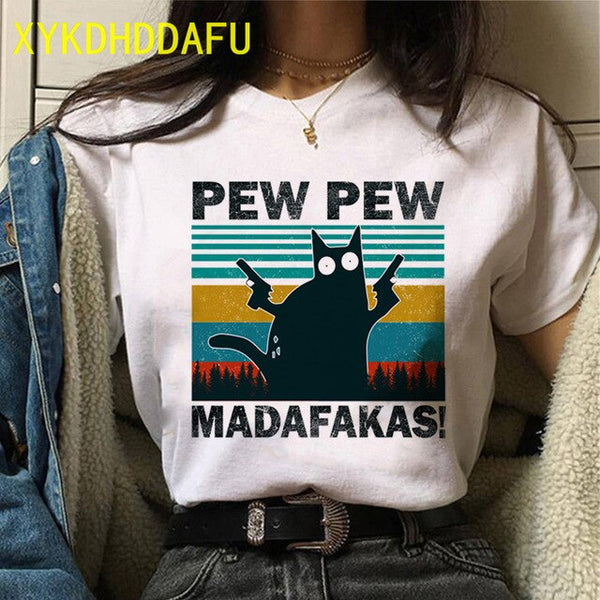 Black Cat Pew Pew Madafakas
