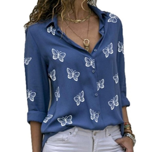 2021 New Fashion Butterfly Print