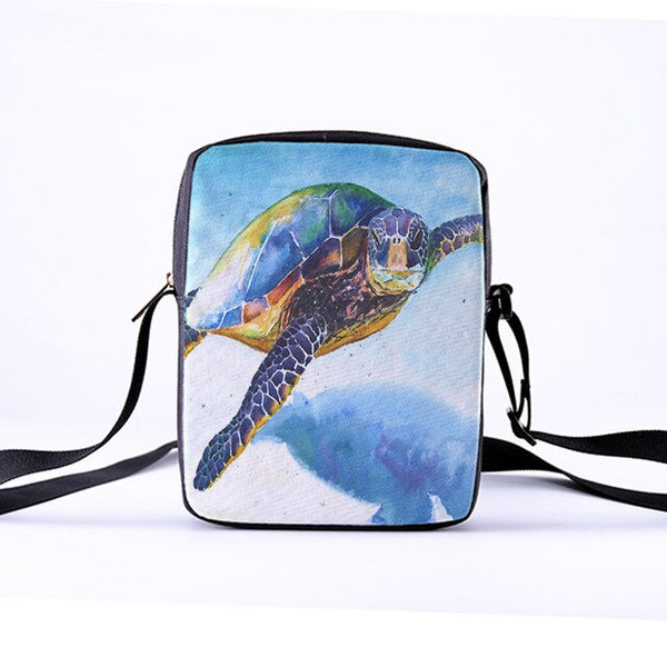 CROWDALE  Sea turtles Messenger Bags
