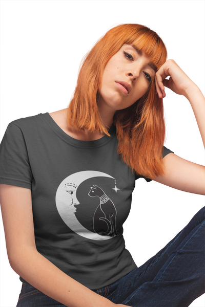 Cat n' Moon Women's short sleeve tee