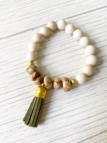 Army Green Tassel