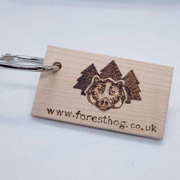 Forest Hog Key Ring