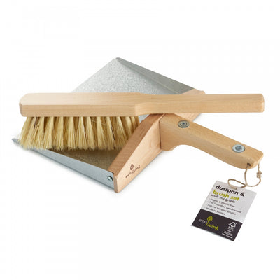 Dust Pan & Brush Set 100% FSC Certified