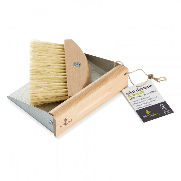 Mini Dustpan Brush and Brush Set 100% FSC Certified