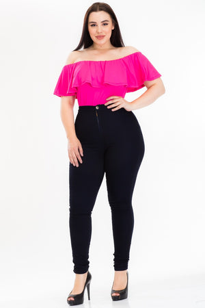 Sandra Off The Shoulder Bodysuit