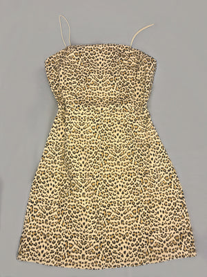 Cassandra Leopard Dress