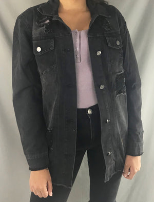 Camila Oversized Denim Jacket